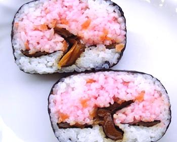 海鮮 満開の桜 (ハーフ)